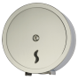 Toilettenpapierspender Jumbo Edelstahl, glänzend AISI 304, Ø 30 cm