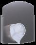 x Hygienebeutelspender AC HBDS E aus geschliffenem Edelstahl