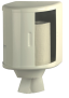 x Rollenhandtuchspender aus weißem Stahlblech, Rollendurchm. max. 250 mm
