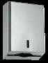Spender Falthandtuchpapier -Euroseptica Falthandtuchspender aus Edelstahl, für 200 Tücher