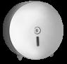 Euroseptica Toilettenpapierspender für Großrollen / Jumborollen für Jumborollen, Edelstahl, bis ø 29 cm