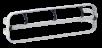 x Euroseptica Halter für Hygiene Folie - Sonnenbankfolie - Solarium Folie