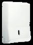 Spender Falthandtuchpapier -Euroseptica Spender Falthandtuchpapier für C-Falt oder Zick-Zack, für ca. 450 Blatt
