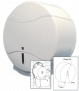 Toilettenpapierspender für Großrollen / Jumborollen Rico Jumbo Maxi