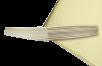Endlos-Filament-Mikrofaser gelb