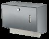 x Abschließbarer Falthandtuchspender für 150-500 Blatt, kleine Ausführung