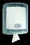 x Spender für Innenabrollung mit Längenregulator, transparent-rauchglas