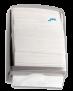 Spender Falthandtuchpapier -Jofel Falthandtuchspender Azur Rauchglas