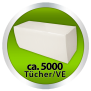 Papierhandtücher Recycling, 1-lagig V-Falz, 25x23 cm - natur