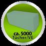 Falthandtücher-Handtuchpapier Recycling, V-Falz, 25x23 cm - 1-lagig -grün