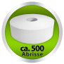 Euroseptica Toilettenpapier - Hygienepapier - Mini Jumborolle Recycling - 2-lagig,Durchmesser ca.19cm