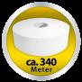 x by Euroseptica Toilettenpapier - Jumborollen - Hochweiss, Gute Qualität, 2- lagig, ca. 26-27 cm Durchmesser