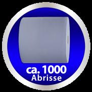 x Wipex Putzpapier-Rolle HiTech hochweiss - 4-lagig, lösungsmittelbeständig, ca. 26,5 x 36 cm, 1 Rolle à 1000 Tücher