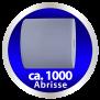 x by Euroseptica Putzrolle blau, 2-lagig verleimt, Abrissl. 37 cm, extrem saugstark
