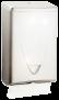 Spender Falthandtuchpapier -INOX Falthandtuchspender aus glänzendem Edelstahl, für 500 Tücher