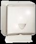 Spender Falthandtuchpapier -INOX Falzpapierspender aus Hochglanz-Edelstahl, für 350 Tücher