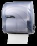 Auto-Cut Handtuchrollenspender Compact Simplicity im Oceans Style, Farbe: Eisblau transparent