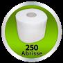 x by Euroseptica Toiletten-Papier - Toilettenpapierrollen 2-lagigDer angezeigte Preis ist für 8 Rollen