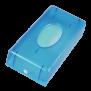 x Euroseptica Kosmetiktuch-Spender - ABS in blau